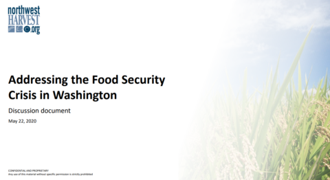 Addressing the Food Security Crisis in Washington